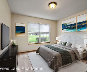 Bedroom, Shawnee Lake Apartments, LLC