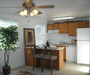 Kitchen, Pacific Highlands Apartments