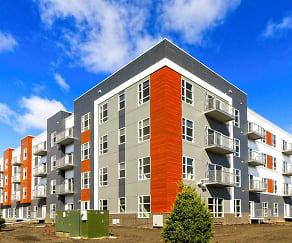 Building, Lumber Exchange Apartments
