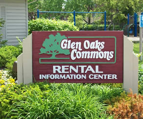 Community Signage, Glen Oaks Commons