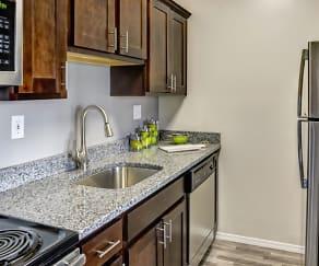 Kitchen, The Mansions at Delmar