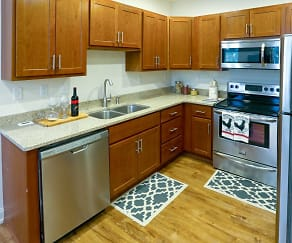Kitchen, Terrace Park Apartments