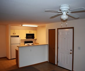 Kitchen, Arbor Woods Apartments LP