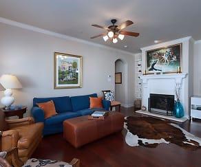 Living Room, 1929 Desoto Drive