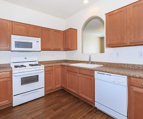 Kitchen, Suncrest Townhomes