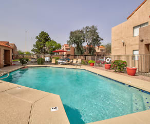 Pool, Desert Wind Apartments