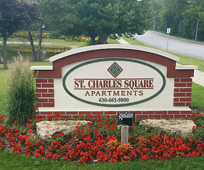 Community Signage, St. Charles Square