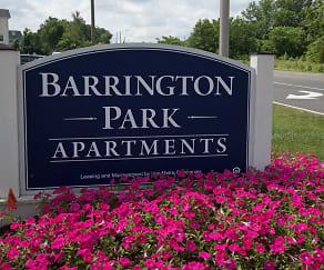 Community Signage, Barrington Park