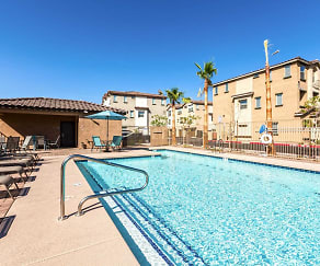 Pool, Luxury Townhomes at Park Tower