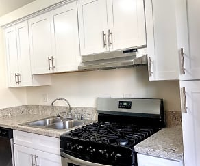 Kitchen, Regency Plaza Apartments