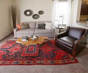 Living Room, Overture Flats