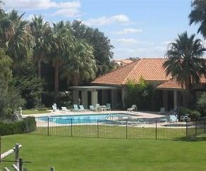 Pool, Oasis Apartments