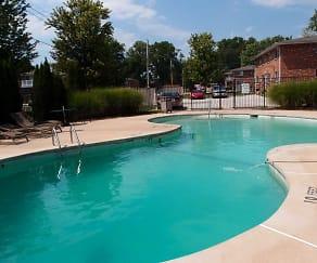 Pool, Charbonier Manor