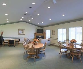Clubhouse, Clayton Manor Apartments
