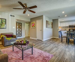 Living Room, Chandler Meadows Furnished Apartments