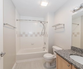 Updated Bathrooms, 2010 Pierce Apartments