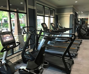 Fitness Weight Room, Gables Century Center
