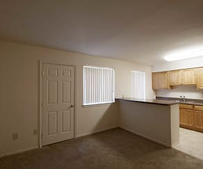 Dining Room, Rolling Hills Apartments
