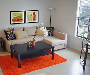 Living Room, River Parks Lofts