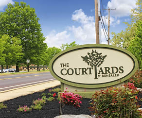 Community Signage, The Courtyards at Bensalem