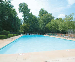Pool, Crown Point Luxury Apartments