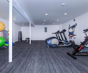 Fitness Weight Room, Park Lane Apartments and Townhomes