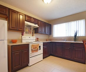 Kitchen, Greenville Park Apartments