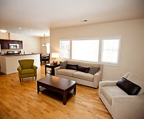 Living Room, The Residences At Toscana Park