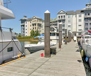 Building, East Beach Marina Apartments