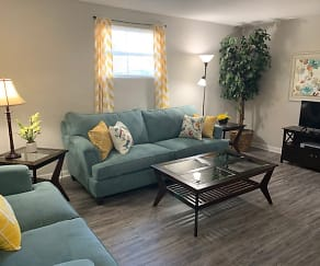 Living Room, The Onyx at 3211