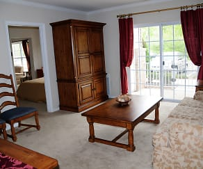 Living Room, Park Terrace Senior Living 55+