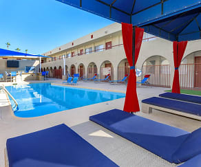 Pool, The U at Park- By The Bed Rentals