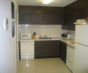 Kitchen, Lord Baron Apartments