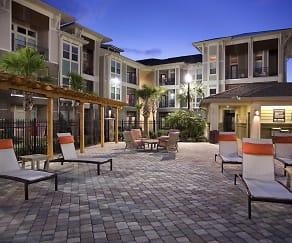 Courtyard, Sorrel Luxury Apartments