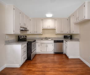 Kitchen, West Park Apartments
