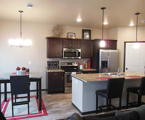 Kitchen, Shadow Wood Townhomes