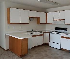 Kitchen, 1002 Green Apartments