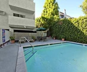 Pool, Ridgeview Apartments