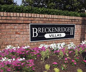 Community Signage, Breckenridge Villas II