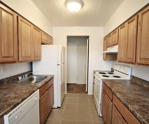Kitchen, Meadowview Apartments
