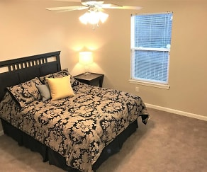 Bedroom, Stoneridge Patio Homes