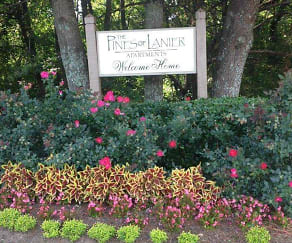 Community Signage, Pines of Lanier