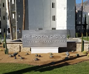 Community Signage, The Modern Cactus