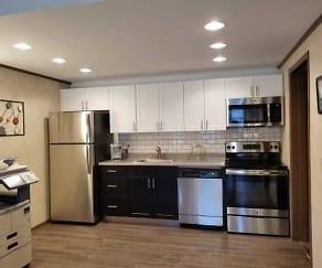 Kitchen, Princeton Court Apartments