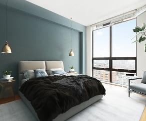 Bedroom, Cast Iron Lofts