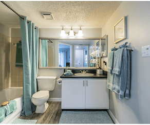 Bathroom, Amberly Place at Tampa Palms