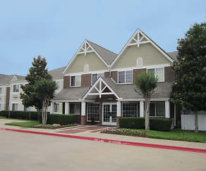 Community Signage, Furnished Studio - Dallas - Plano Parkway