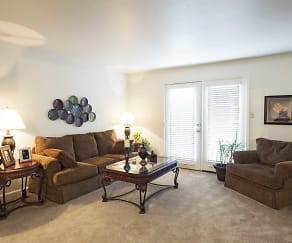 Living Room, Chaparral Apartments