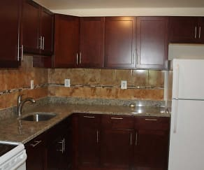 Kitchen, Washington Towers Apartments