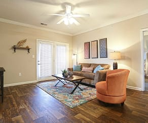 Living Room, The Village at Elam Farms